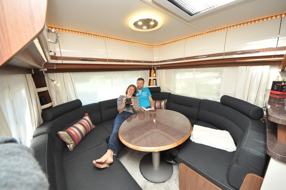 Fendt opal 560 srf camping cars caravans for Wohnlandschaft opal