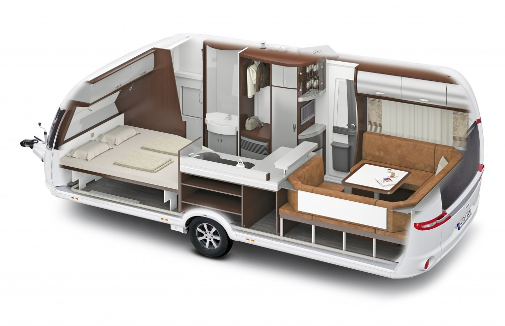 Hobby Premium 560 CFe  Camping, Cars & Caravans