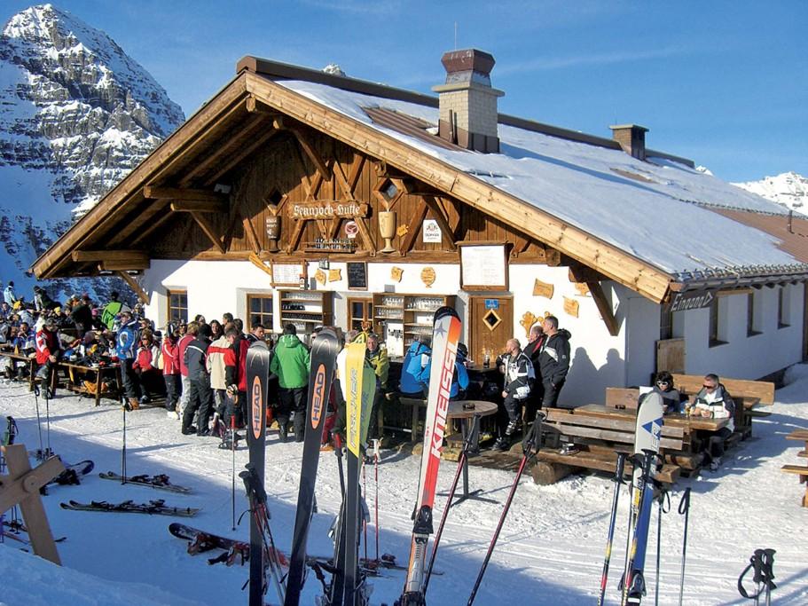 Reise Stubaital Hütte am Eisgrat