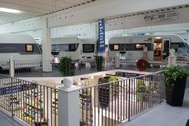Fahrzeugausstellung und Zubehörshop Foto: Camperland J. Bong Vertriebs GmbH