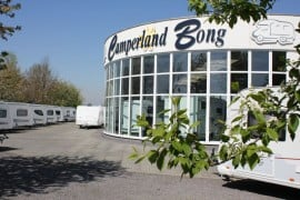 Camperland Bong: Die Firmenzentrale in Rheinbach.