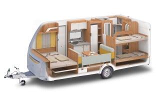 Wohnwagen Mit Dreier Etagenbett : Wohnwagen archive seite von camping cars caravans
