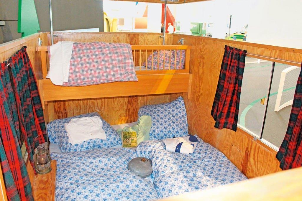 Ab ins Bettchen - Erwin Hymer Museum zeigt mobile Schlafzimmer
