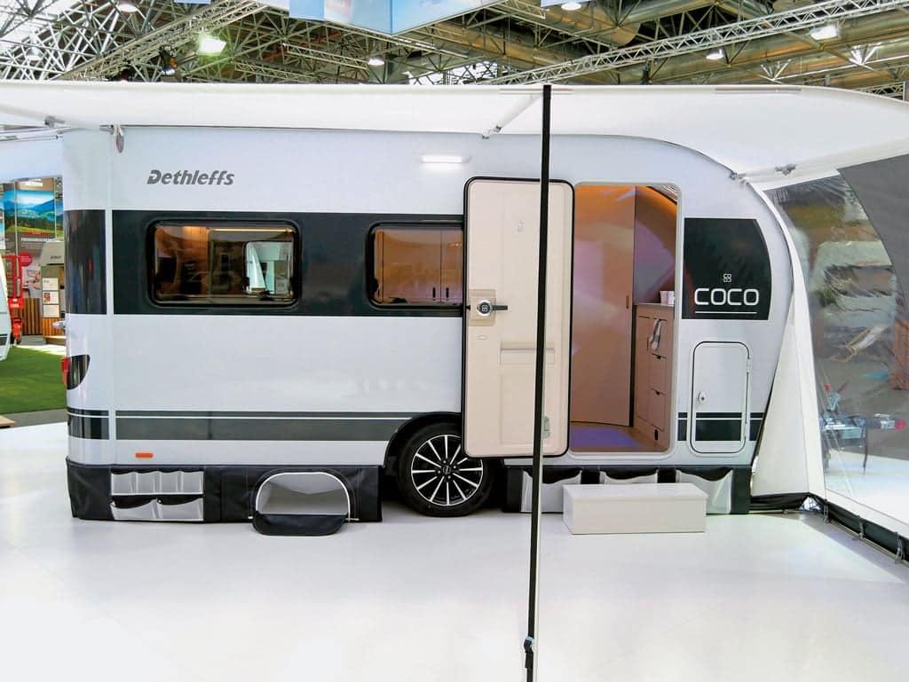 Dethleffs coco 2018 ist caravan des jahres camping cars for Salon de discussion coco