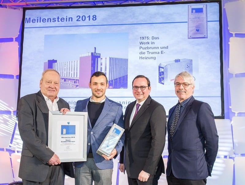 Alexander Wottrich nimmt Meilenstein von CTJ entgegen