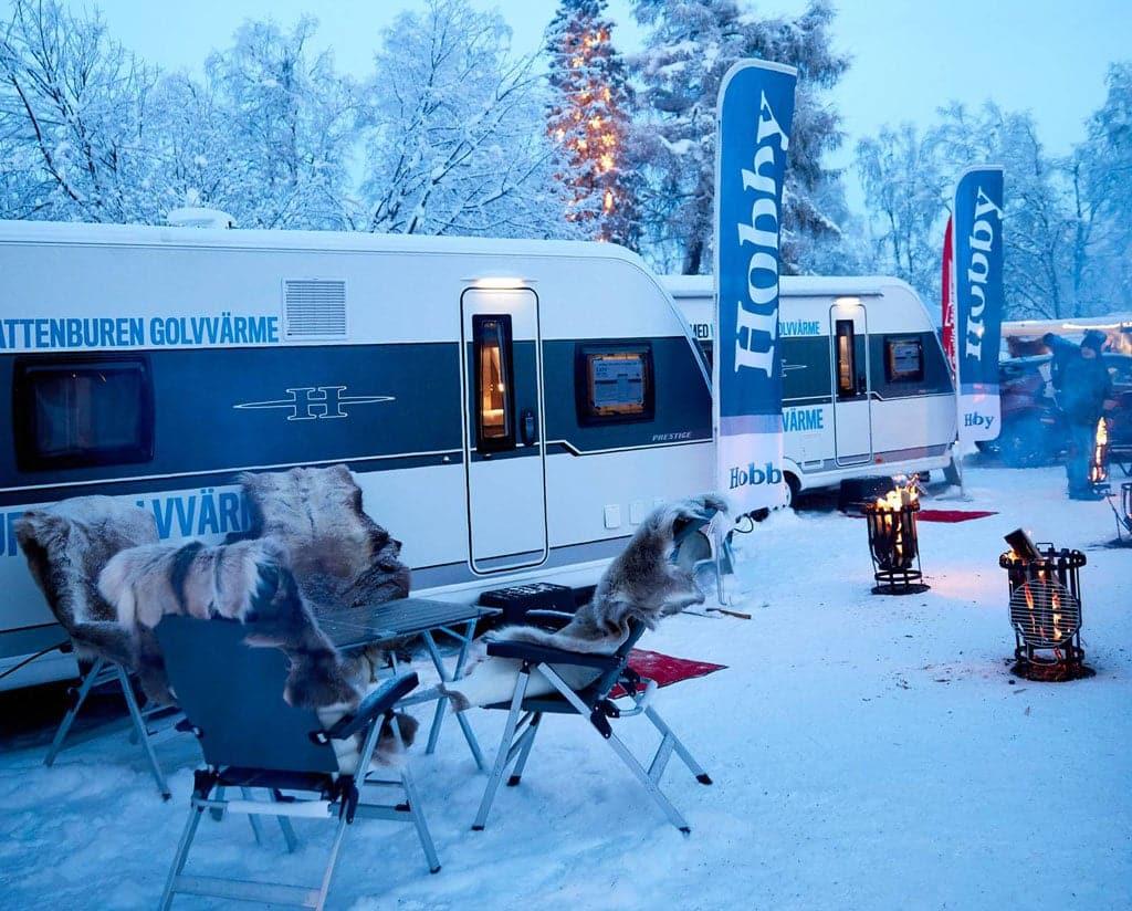 Hobby: Kältetest in Schweden