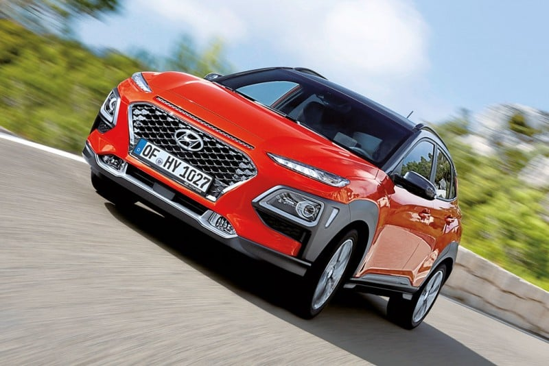 Hyundai Kona 2018 - neuer Mini-SUV am Markt