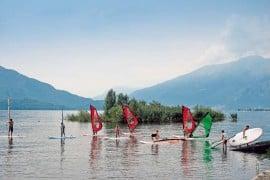 Sorico Surferparadies Comer see