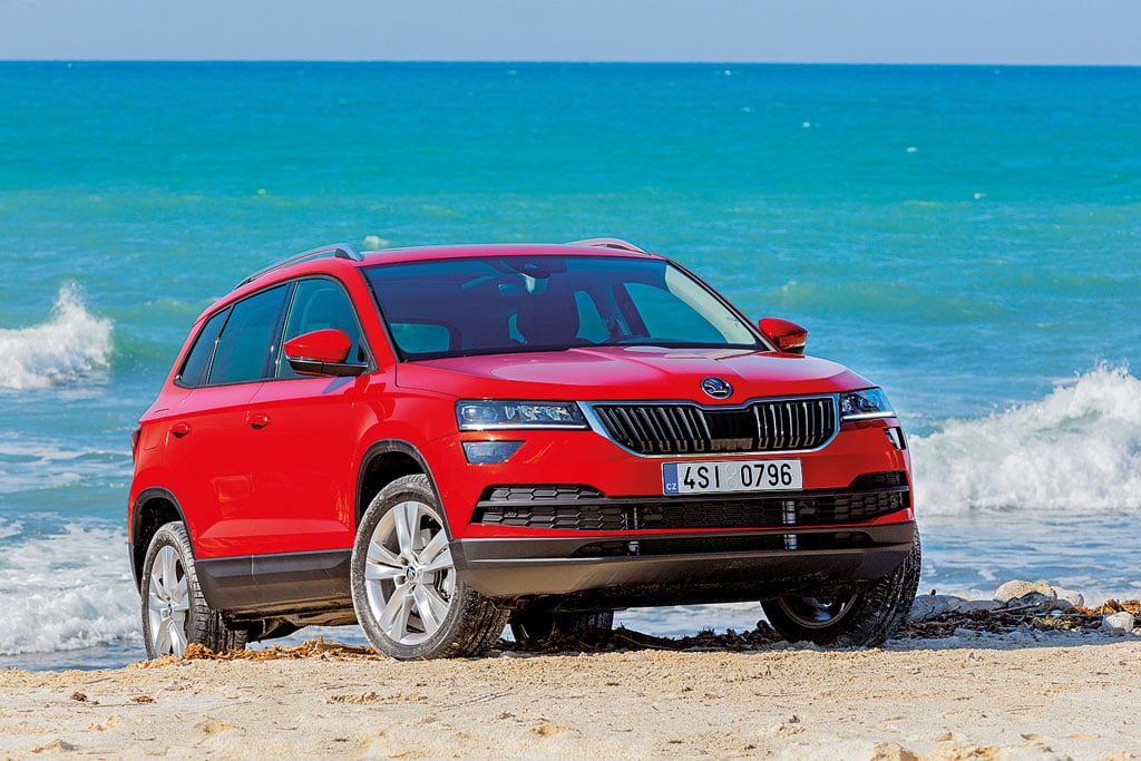 skoda karoq 2018 camping cars caravans. Black Bedroom Furniture Sets. Home Design Ideas