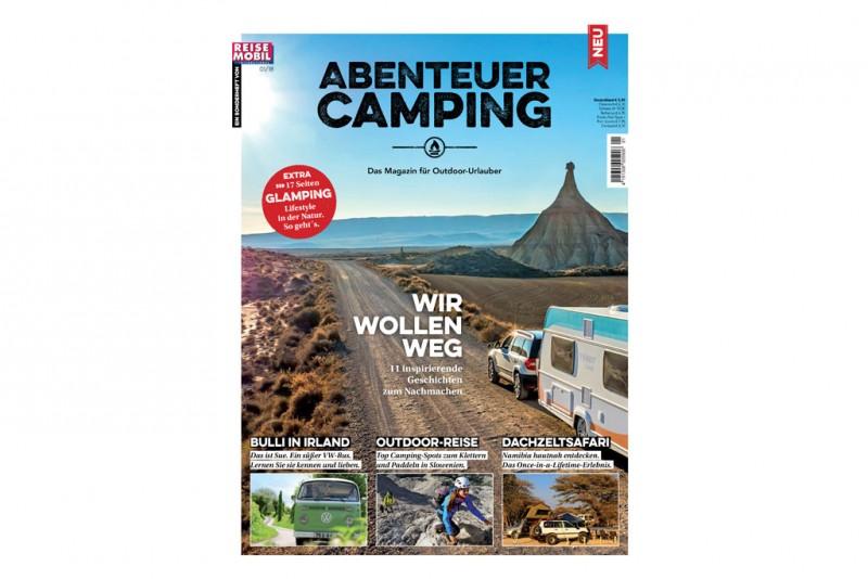 Neu am Kiosk: Abenteuer Camping 2018