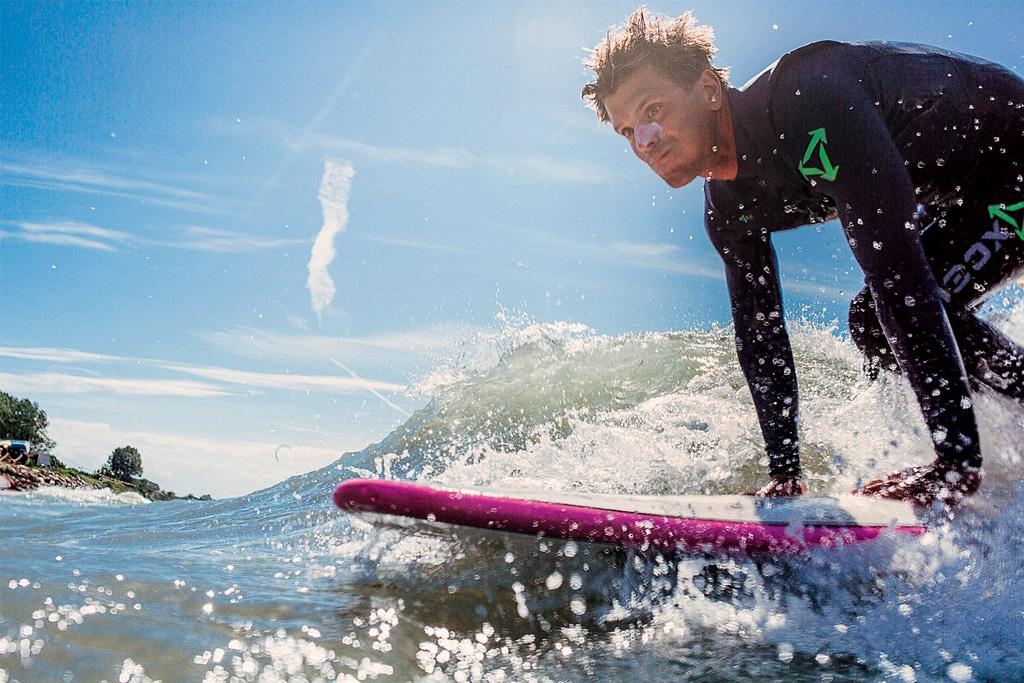 Surfen in Kühlungsborn beim SeaBorn