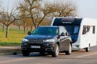 BMW X5 mit Caravan