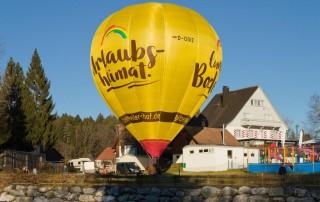 Gitzenweiler Hof Heißluftballon
