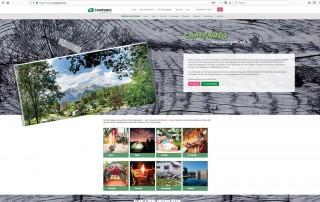 Online Plattform für Campingplätze