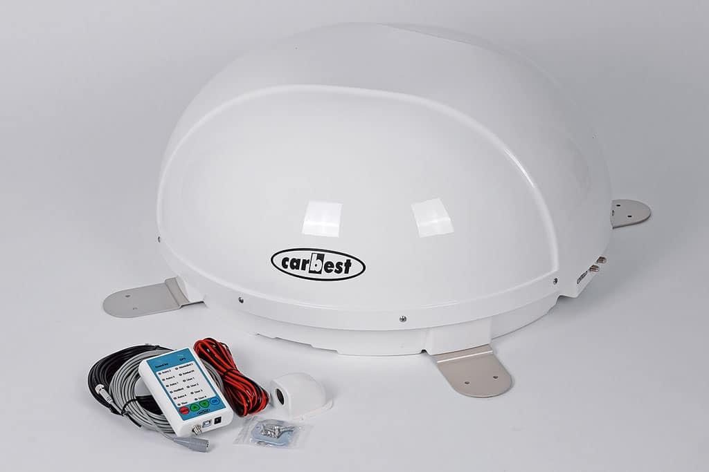 einbau automatische sat anlage snipe dome von carbest. Black Bedroom Furniture Sets. Home Design Ideas