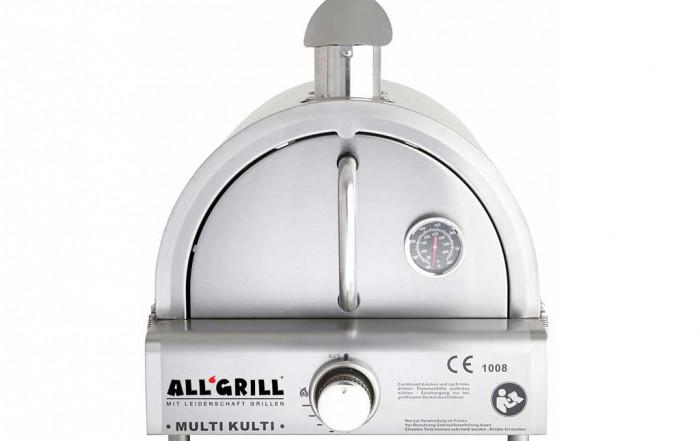 Multi-Kulti-Gasgrill von All'Grill mit Backhaube