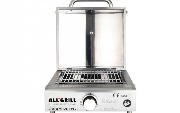 Multi-Kulti-Gasgrill von All'Grill mit Grillrost