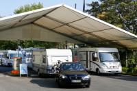 Caravan Center P1 auf dem Düsseldorfer Messegelände