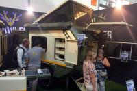 Crawler Outdoor-Caravan auf dem Caravan Salon 2018