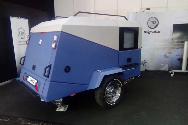 FIM Caravans stellt neuen Minicaravan vor