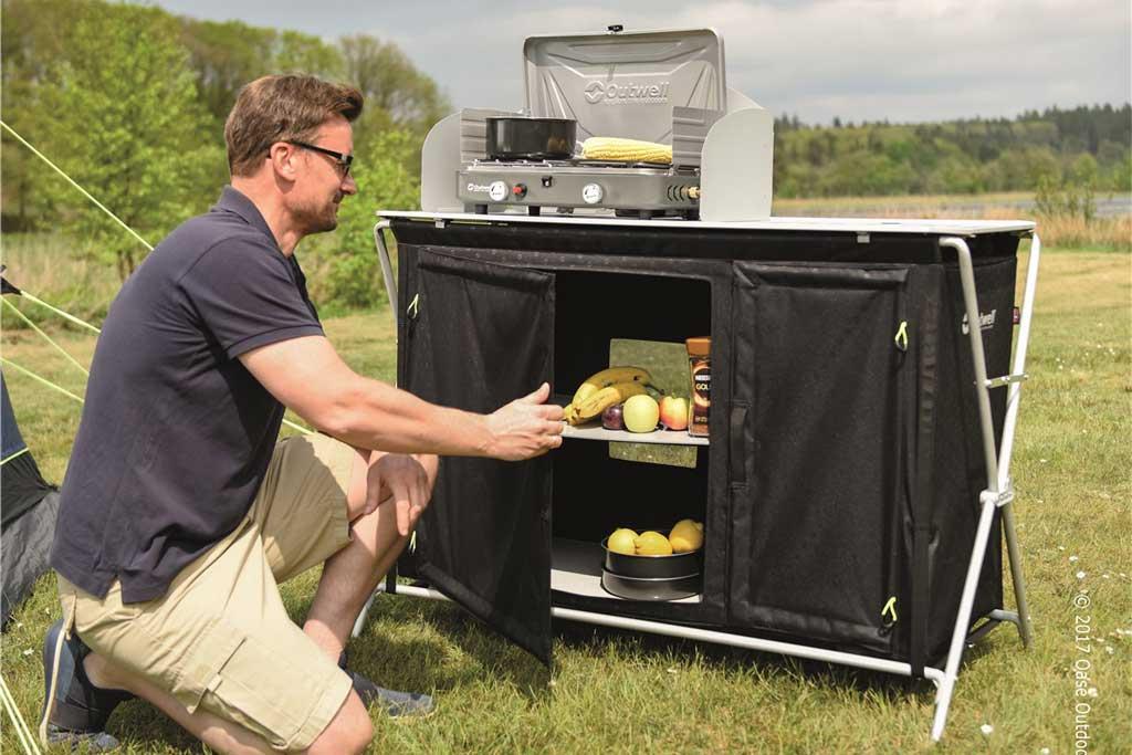 Outdoor Küchen Camping : Outwell küchen mit magnettüren camping cars & caravans
