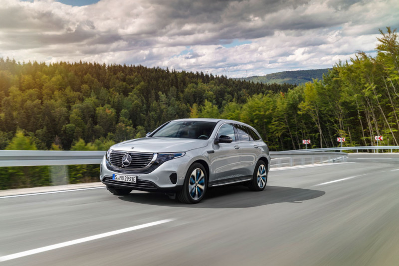 Mercedes Benz EQC