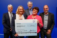 Spendenübergabe beim König Kunde Award 2018