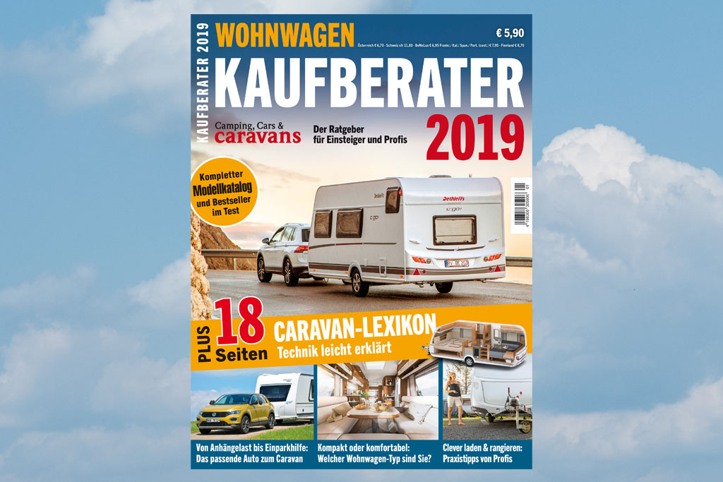 wohnwagen kaufberater 2019 camping cars caravans. Black Bedroom Furniture Sets. Home Design Ideas