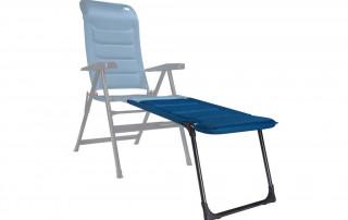 Frankana HighQ Campingstuhl blau Beinauflage