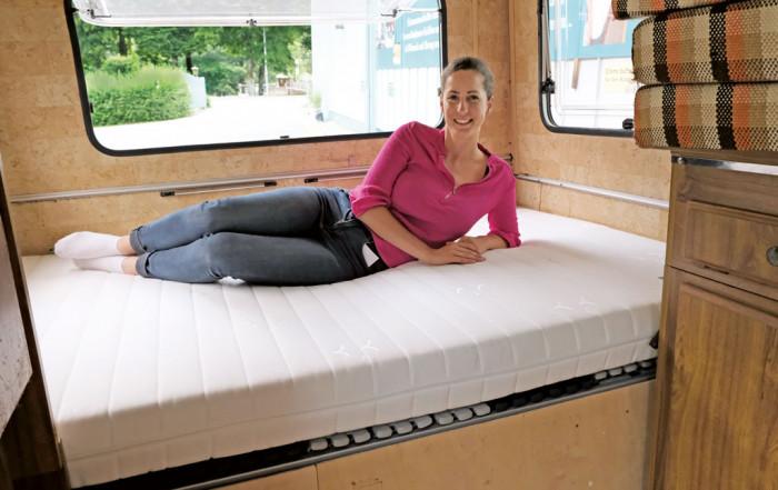 Welche Matratze eignet sich für Caravaner