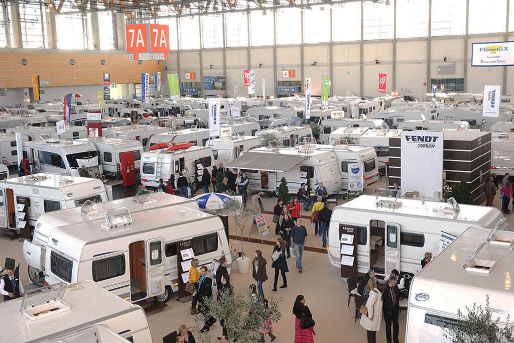 Freizeit Messe Nürnberg 2019 Camping Cars Caravans