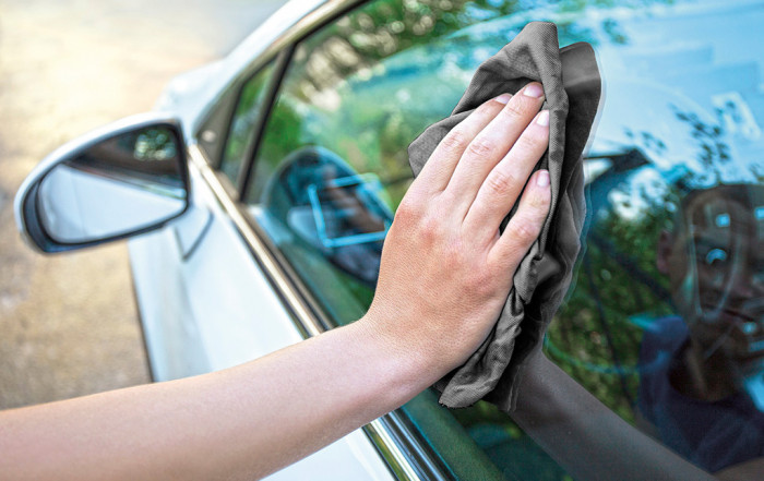 Pingie Car Care Towels Anwendung