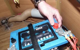 Bordbatterie im Caravan