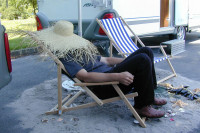 Frage des Monats: Mittagsruhe auf dem Campingplatz