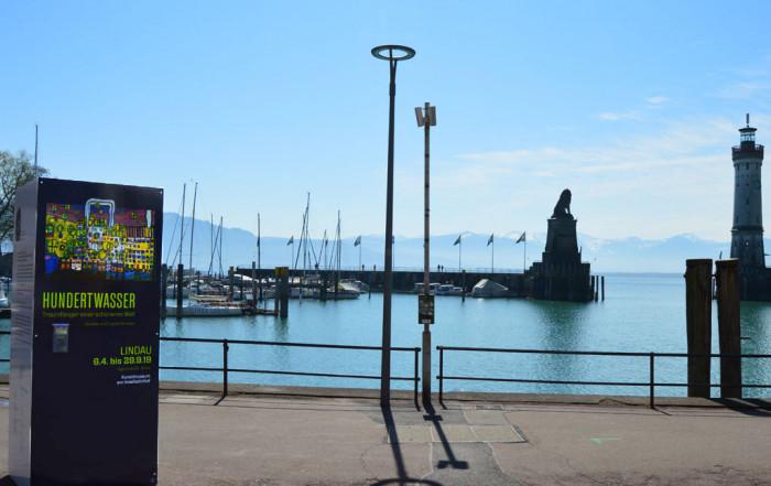 Hundertwasser-Ausstellung Lindau
