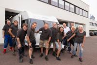 Produktionsjubiläum beim Caravan-Hersteller Hobby