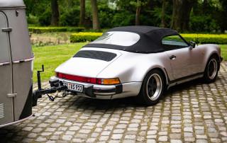 Porsche 911 Speedster mit Eriba Puck