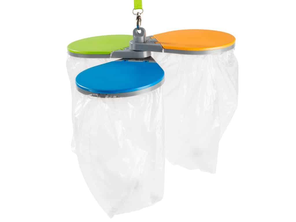 Müllbehälter für den Wohnwagen: Resty Mülltrenner