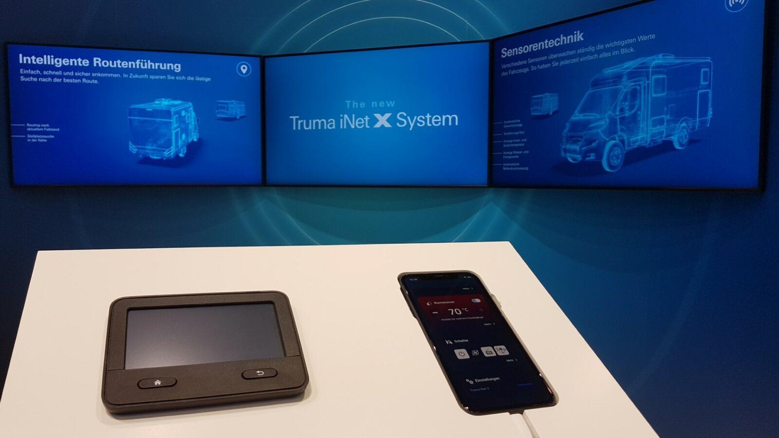 CSD smarte Caravan-Steuerung Truma iNet X